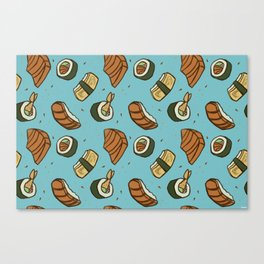SUSHI PARTY Canvas Print