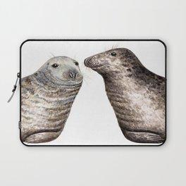 Grey seals(Halichoerus grypus) Laptop Sleeve