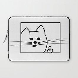 Rough Cat Laptop Sleeve