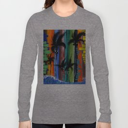 """""""COLOR IN PARADISE""""  Long Sleeve T-shirt"""