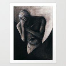 TEARS FROM THE VISCERAL EYE Art Print