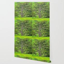 Old English Tree Wallpaper
