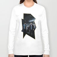 supernatural Long Sleeve T-shirts featuring Supernatural by Clara J Aira