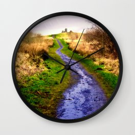 Path To The Moon Wall Clock