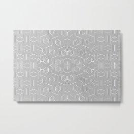 2805 DL pattern 3 Metal Print