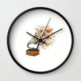 Wild Simphony Wall Clock