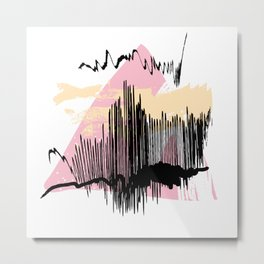 Pink mess Metal Print