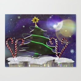 Oh Christmas Tree Canvas Print
