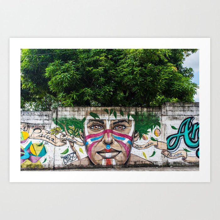 AFH 2018 Street Art Art Print