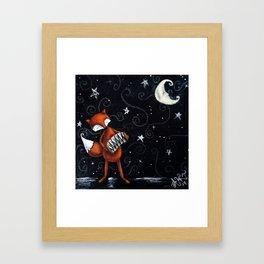 Moon Songs Framed Art Print