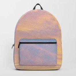 Blue Rose Yellow Sunrise Backpack