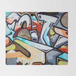 Wall Graffiti Throw Blanket