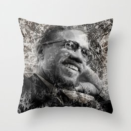 MALCOLM Throw Pillow