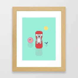 Koala (fun in the sun) Framed Art Print