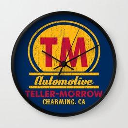 Teller-Morrow Wall Clock