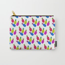 Pineapple Pattern Vibrant Candy Carry-All Pouch