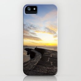 The Cobb, Lyme Regis iPhone Case