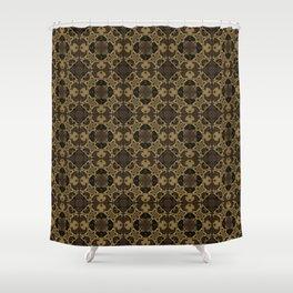 Foamy Coffee Shower Curtain
