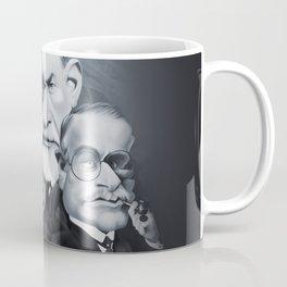 Sigmund Freud and Carl Jung Coffee Mug
