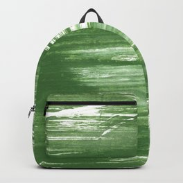 Fern green abstract watercolor Backpack