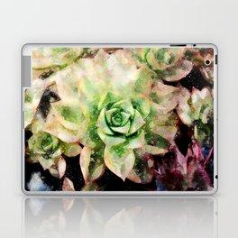 Colorful Succulent Watercolor Laptop & iPad Skin
