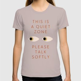 Quiet Zone T-shirt