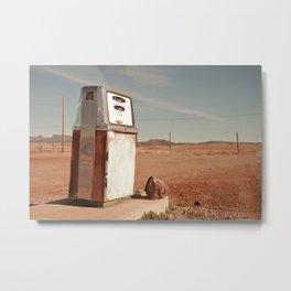 Desert Gas Metal Print