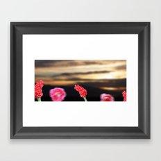 Surreal Sunrise Framed Art Print