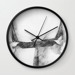 Pants Down Wall Clock