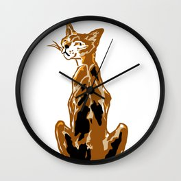 On the Quiet Wall Clock