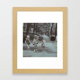 019 Framed Art Print