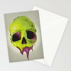Liquid Skull Stationery Cards