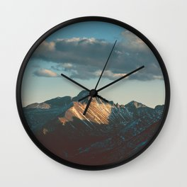 Catching the Sun Wall Clock