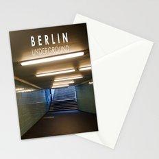 Tube Station - Fehrbelliner Platz - BERLIN UNDERGROUND Stationery Cards