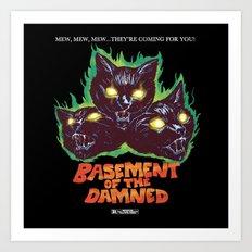 Basement Of The Damned Art Print