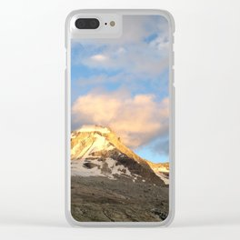 Gran Paradiso, Valsavarenche, Itlay Clear iPhone Case