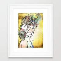archan nair Framed Art Prints featuring Dusk by Archan Nair