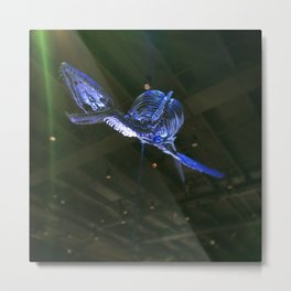 Dino in flight Metal Print