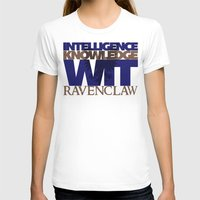 ravenclaw T-shirts featuring Ravenclaw by Fanboy's Canvas