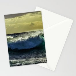 Wave Series Photograph No. 9 - Sunset on the Water Stationery Cards