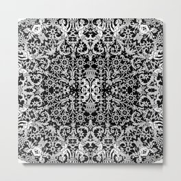 Lace Variation 01 Metal Print