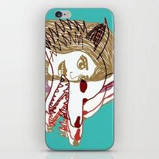 Triple She Wolf iPhone & iPod Skin
