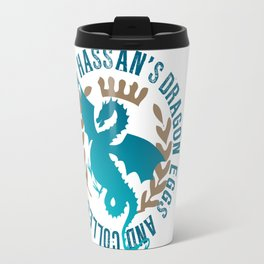 Hassan's Collectibles and Curiosities - from the novel, Dragon's Danger Travel Mug