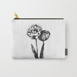 Carnations Carry-All Pouch