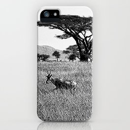 Impala in the grass iPhone Case