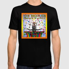 Magical Mystery Tour Mens Fitted Tee MEDIUM Black