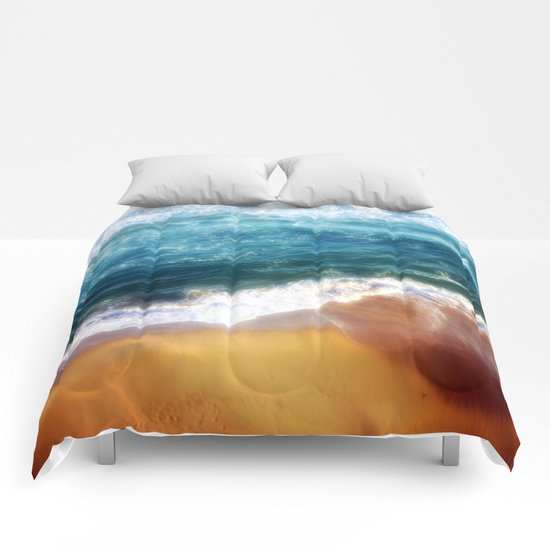 Colourful Seascapes Comforters