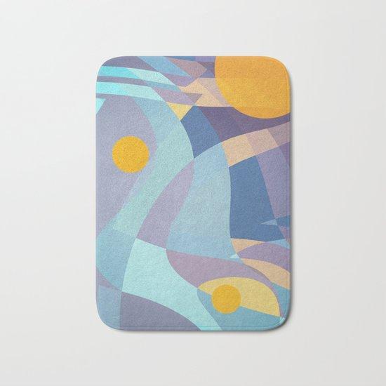 Sun is Life Bath Mat by Dcosmos  Society6 # Sun Shower Rug_220024