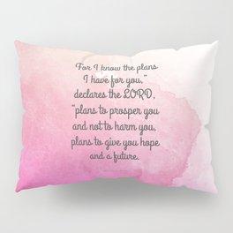 Jeremiah 29:11, Encouraging Bible Verse Pillow Sham