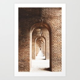 The Archway  Art Print